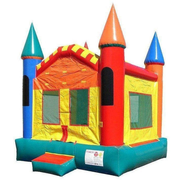 Commercial Castle 3 Bounce House-Happy Jump-YardKid