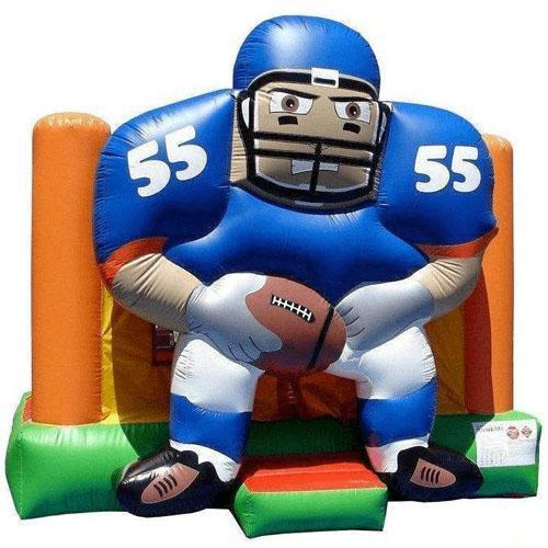 Commercial Football Bounce House 13x13-Happy Jump-YardKid