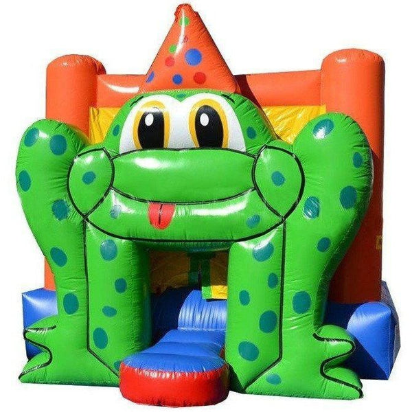 Commercial Frog Bounce House-Happy Jump-YardKid
