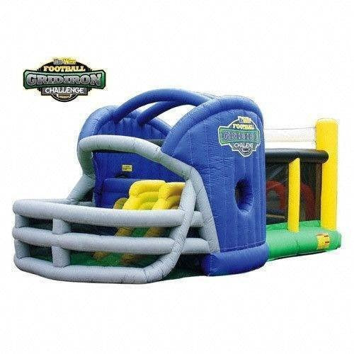 Commercial Gridiron Football Challenge Gameday Bounce House-KidWise-YardKid