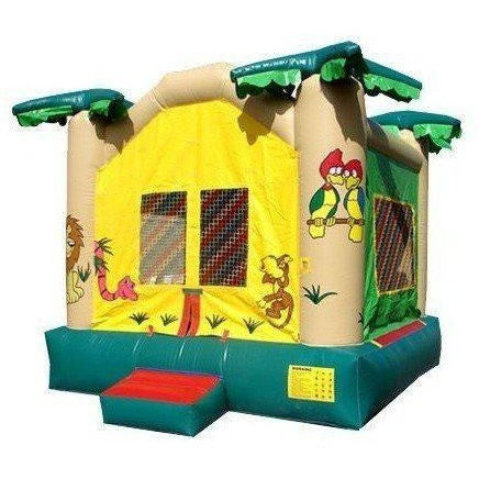 Commercial Jungle Bounce House-Happy Jump-YardKid