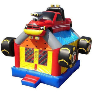 Commercial Monster Truck Bounce House
