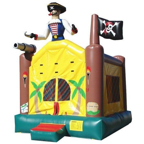 Commercial Pirate Bounce House-Happy Jump-YardKid