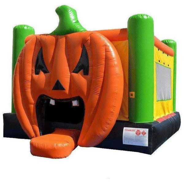 Commercial Pumpkin Bounce House-Happy Jump-YardKid
