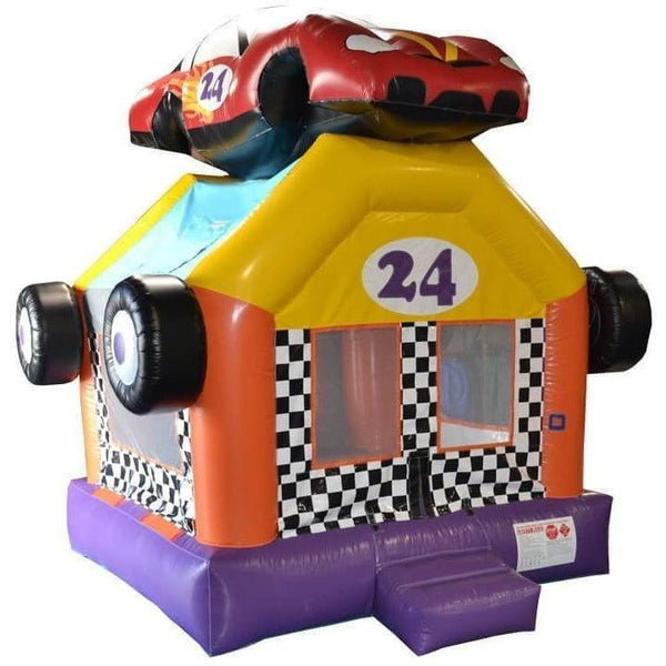 Commercial Race Car Bounce House-Happy Jump-YardKid