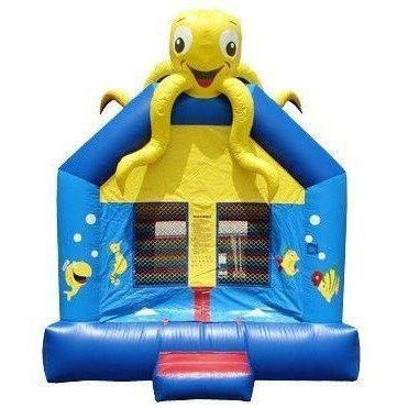 Commercial Sea Bounce House-Happy Jump-YardKid
