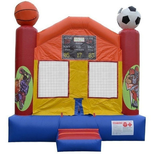 Commercial Sports Arena Bounce House-Happy Jump-YardKid