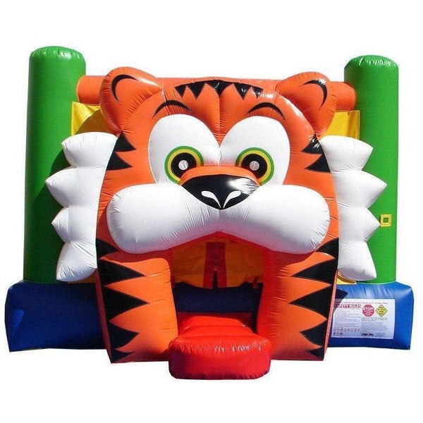 Commercial Tiger Bounce House-Happy Jump-YardKid