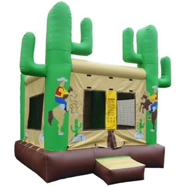 Commercial Western Bounce House-Happy Jump-YardKid