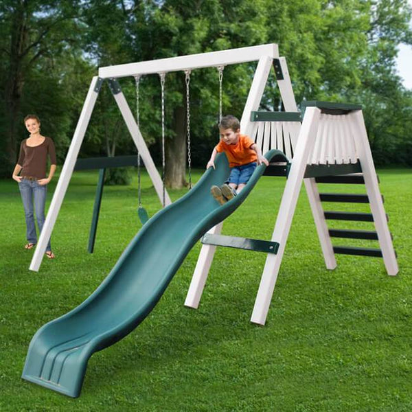 Congo Swing'N Monkey 2 Position Swing Set Optional Deck - Various Colors-KidWise-YardKid