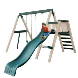 Congo Swing'N Monkey 2 Position Swing Set Optional Deck - Various Colors