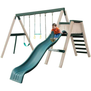 Congo Swing'N Monkey 3 Position Swing Set Optional Deck - Various Colors