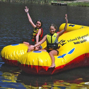 Double Blaster Water Trampoline Attachment