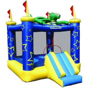 Draco The Magic Dragon Jumping Castle - Bounce House with Slide