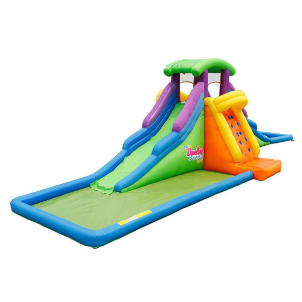 Dueling2 Back to Back Inflatable Water Slide-KidWise-YardKid