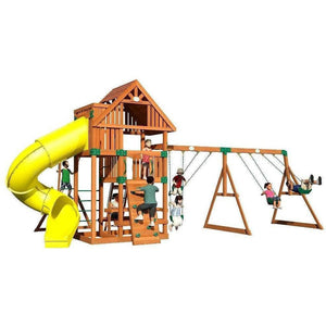 Excursion Cedar Swing Set