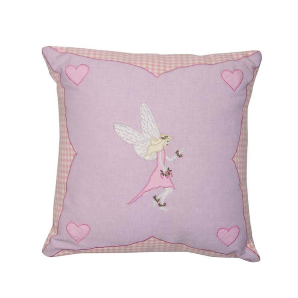 Fairy Cottage Cushion / Pillow Cover-Win Green-YardKid
