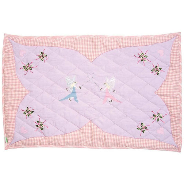 Fairy Cottage Floor Quilt-Win Green-YardKid