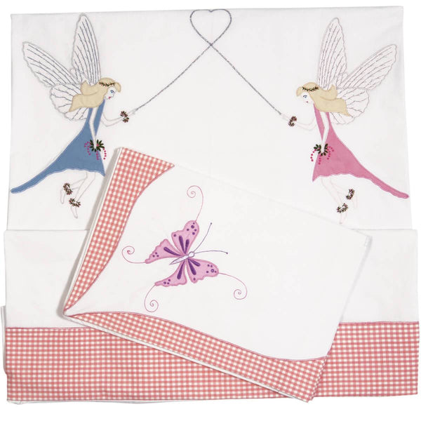 Fairy Duvet Cover Set-Win Green-YardKid