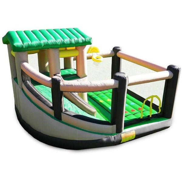 Fort All Sport 7-Activity Bounce House-Island Hopper-YardKid