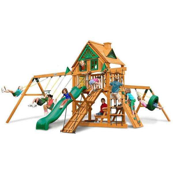 Frontier Swing Set Various Options By Gorilla Playsets