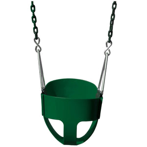 Full Bucket Toddler Swing - Various Colors