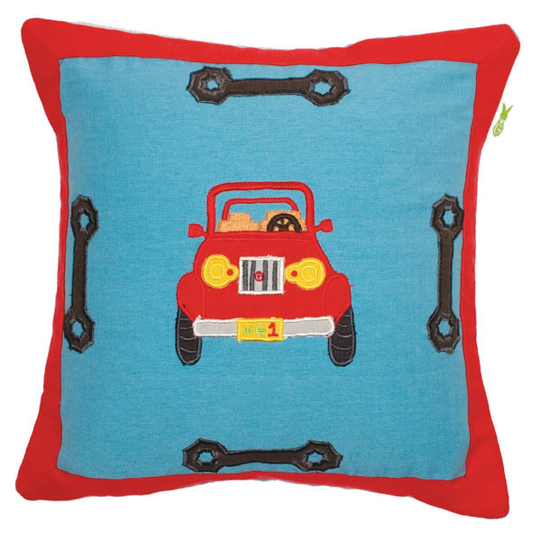 Garage Cushion / Pillow Cover-Win Green-YardKid