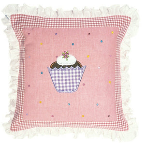 Gingerbread Cottage Cushion / Pillow Cover