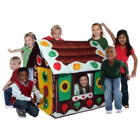 Gingerbread House Playhouse-Bazoongi-YardKid