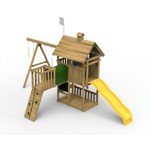 Grand Slam Swing Set - Bronze-PlayStar-YardKid
