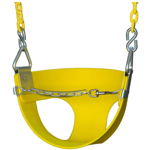 Half Bucket Toddler Swing - Various Colors