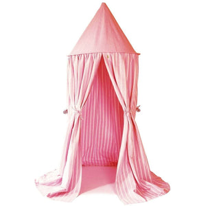 Hanging Tent - Rose Multi-Stripe