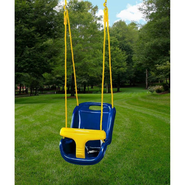 High Back Infant Swing - Various Colors-Gorilla Playsets-YardKid