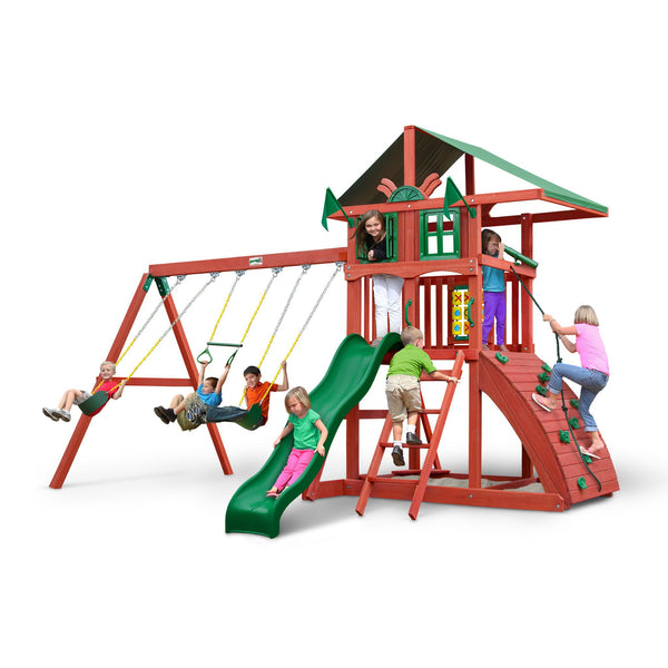 Highcrest Swing Set-Gorilla Playsets-YardKid