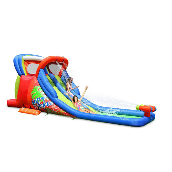Hot Summer Double Water Slide-KidWise-YardKid
