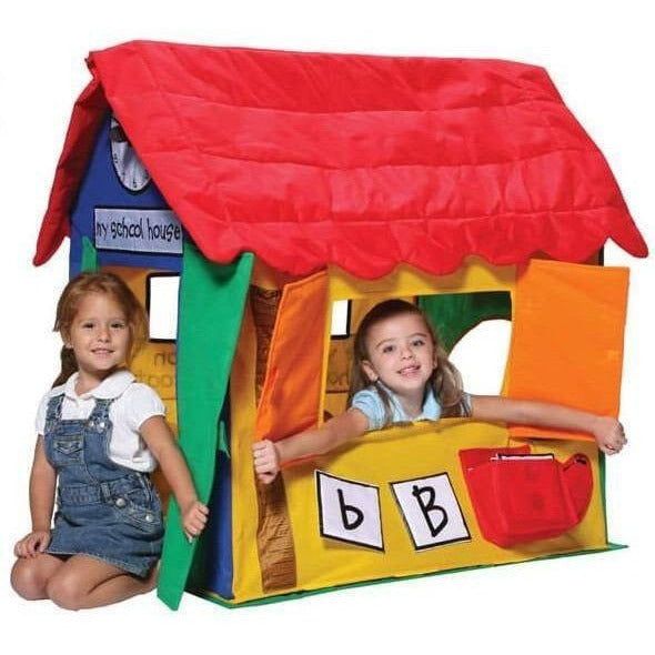 Kids Cottage Learning Playhouse-Bazoongi-YardKid