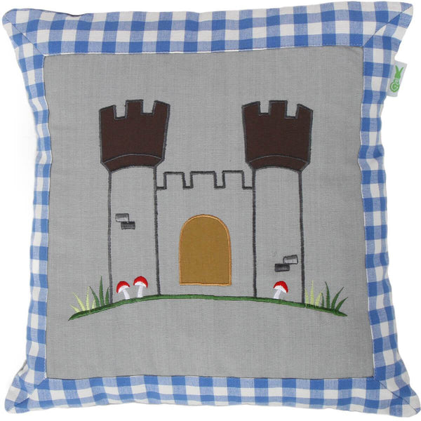Knight's Castle Cushion / Pillow Cover-Win Green-YardKid