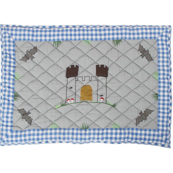 Knight's Castle Floor Quilt-Win Green-YardKid