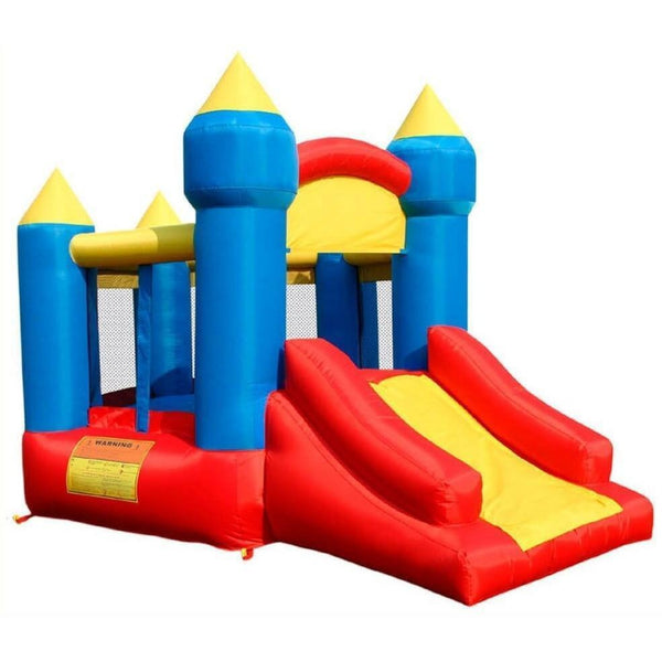 Little King's Castle Bounce House with Slide-KidWise-YardKid