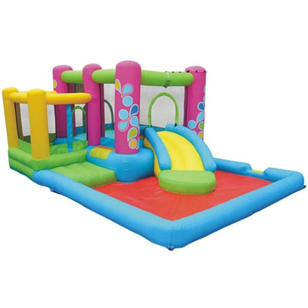 Little Sprout All-In-One Bounce 'N Slide Combo Bounce House-KidWise-YardKid