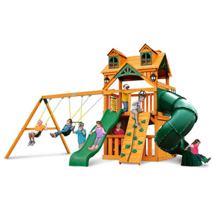Malibu Clubhouse Extreme Swing Set