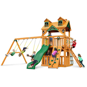 Malibu Clubhouse Swing Set