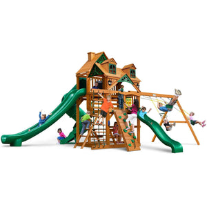 Malibu Deluxe II Swing Set