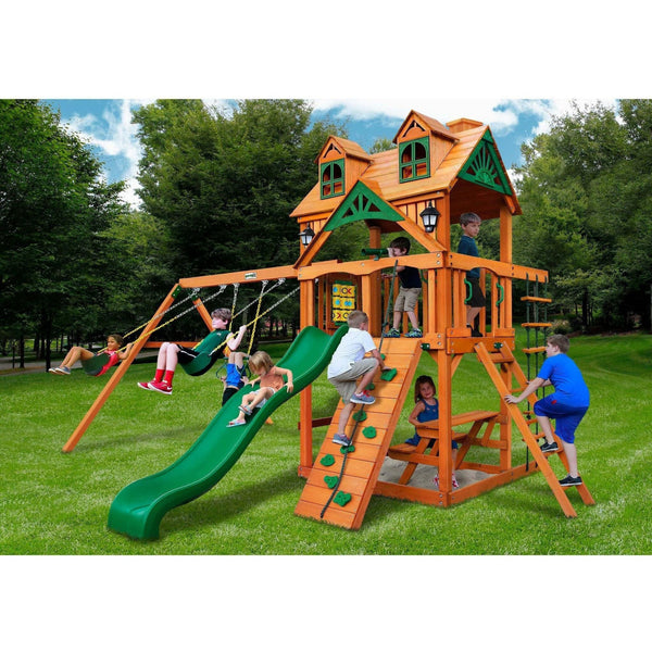 Malibu Swing Set-Gorilla Playsets-YardKid