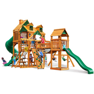 Malibu Treasure I Trove Swing Set