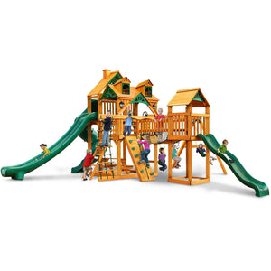 Malibu Treasure II Trove Swing Set