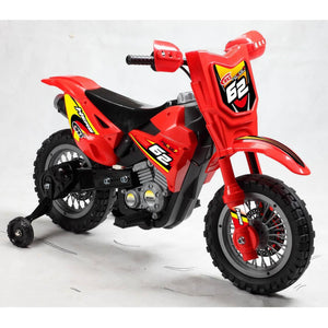 Mini Dirt Bike 6V - Various Colors