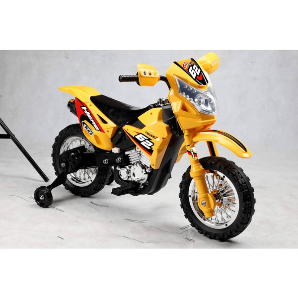 Mini Dirt Bike 6V with Headlight - Various Colors-Best Ride on Cars-YardKid