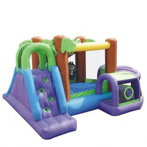 Monkey Explorer Bounce House with Slide