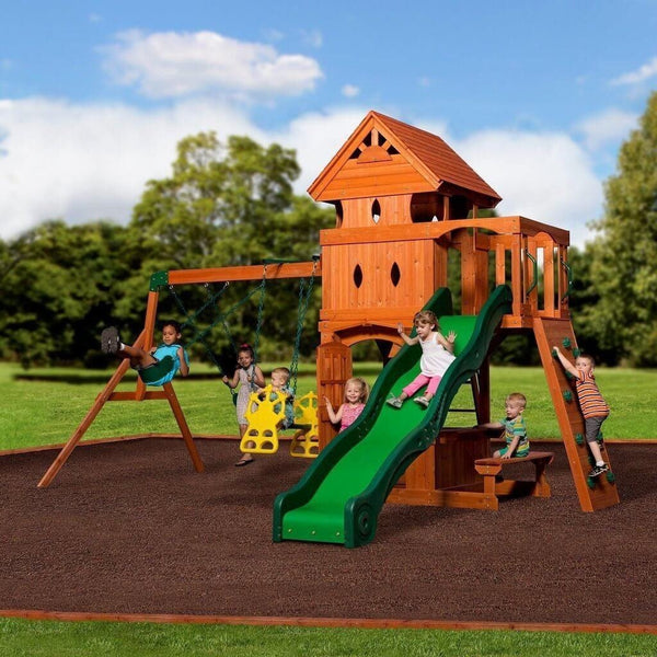 Monterey Swing Set by Backyard Discovery 752113960121 ...